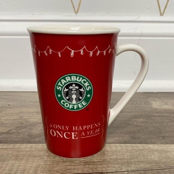 Starbucks Christmas 12 oz Coffee Mug 2005